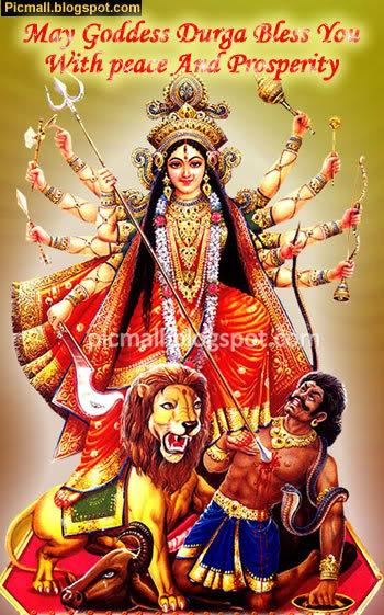 Goddess Durga Scraps 