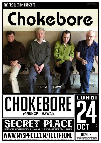 [24-10]  CHOKEBORE @ SECRET PLACE – 34  L
